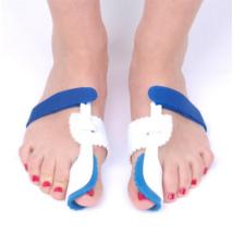 Bütykös láb kezelésére szolgáló-éjszakai korrekciós eszköz
