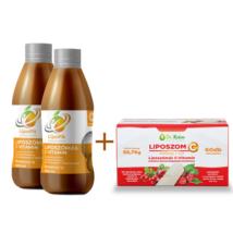 LipoFit folyékony Liposzómás C vitamin 500 ml 2+1 akciós csomag