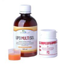 InterHealth LipoMultiSol liposzómás multivitamin 300 ml + Ajándék Huminiqum 60 db