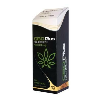 Energovital CBD Olaj Plus Full Spectrum 10% (1000 mg) 10 ml