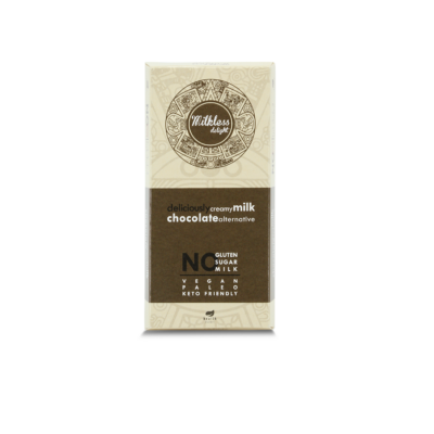 Milkless Delight tejmentes kakaós tábla édesítőszerrel 80g