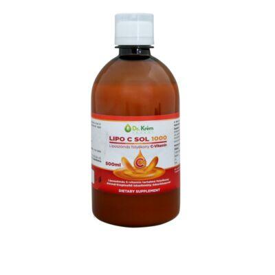 Dr.Krém Lipo C Sol 1000 liposzómás folyékony C-vitamin 500 ml