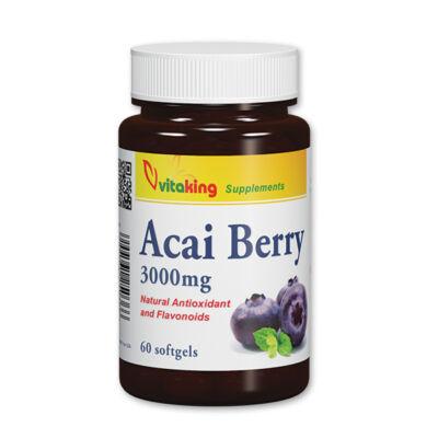 vitaking - Acai Berry gélkapszula 60 db
