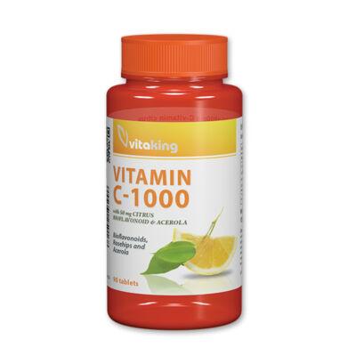 vitaking - C-vitamin 1000mg tabletta Bioflavonidokkal 90 db