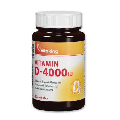 vitaking - D3-vitamin 4000NE kapszula 90 db