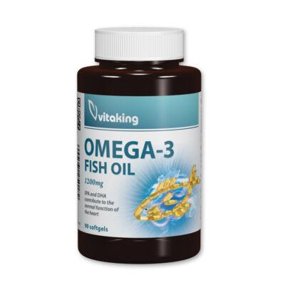 vitaking - omega 3 - halolaj gélkapszula 90 db