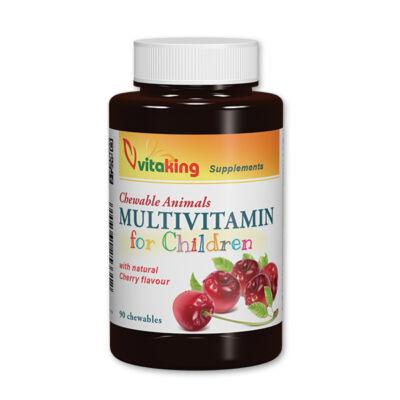 vitaking - Multivitamin rágótabletta 90 db