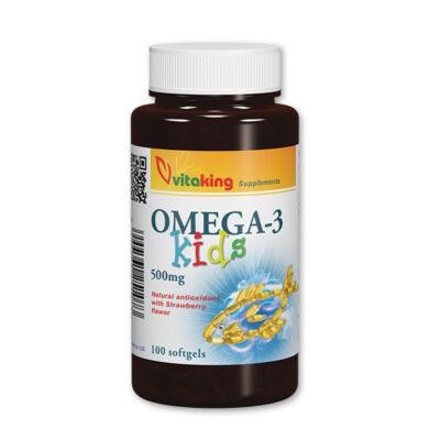 vitaking - Omega-3 Kids gélkapszula 100 db